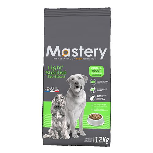 Mastery adulte light stérilisé – Croquettes allégées pour chien adulte